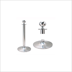 STANCHION POST CLASSIC SILVER