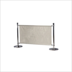 STANCHION POST WITH SCREEN