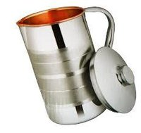 Cppper Steel Jug