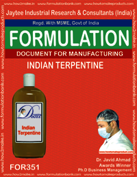 Process for making indian terpentine