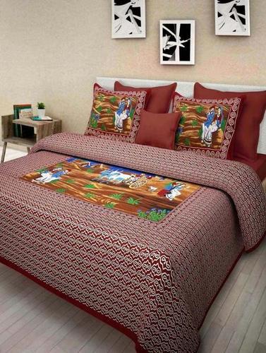 Cotton Scenery BedSheet
