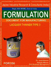 Lacquer thinner type 3