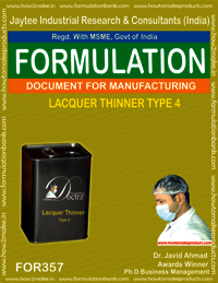 Lacquer thinner type 4