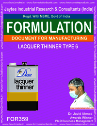 Lacquer thinner type 6