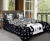 Decorative Floral Bed Cover