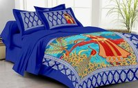 Designer Scenery Bed Sheet