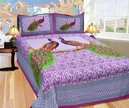Animal Print Cotton Bedsheet