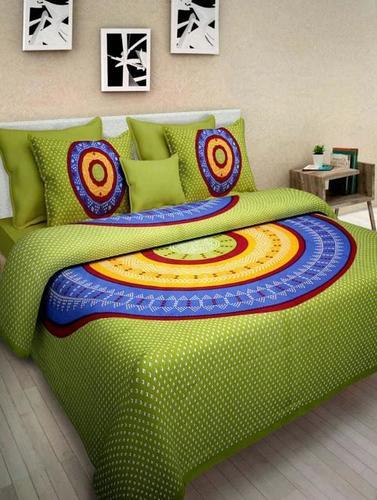 Designer Floral Bed Cover