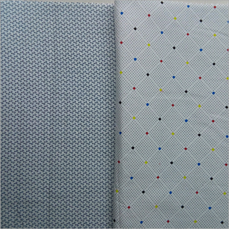 Cotton Satin Print Fabric