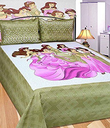Scenery Cotton Bed Cover