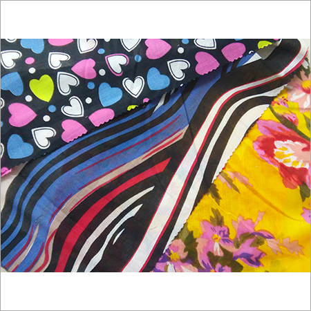 Cotton Voile Print Fabric