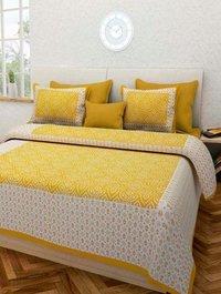 Sanganeri Print Bed Sheet