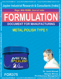 Metal Polishes Formulations