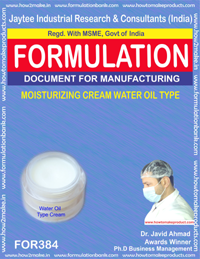 Face Care and Creams & Lotions Formulations