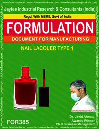 Nails lacquer type 1