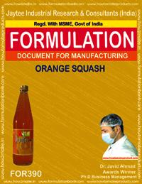 Recipe orange squash