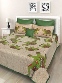 Rajasthani Cotton Double Bedsheet