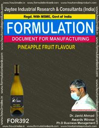 Pineapple Fruit Flavour