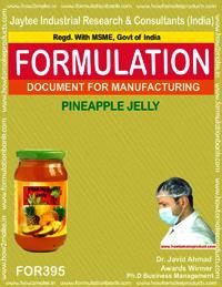 Recipe of pine apple jelly