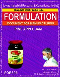 Recipe of pine apple jam