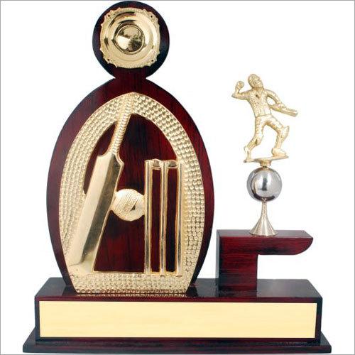Decorative Cricket Trophy