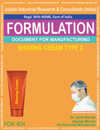 Shaving Related Formulations