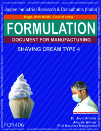 Shaving cream type 4