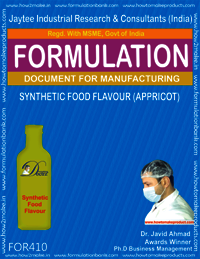 Synthetic food flavor apricot