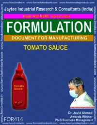 Recipe of tomato sauce