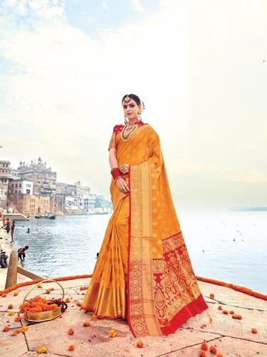 Tradition Touch Designer Silk Saree Online