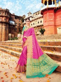 Buy Banarasi Silk Sarees