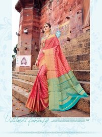 Fancy Banarasi Silk Saree Online