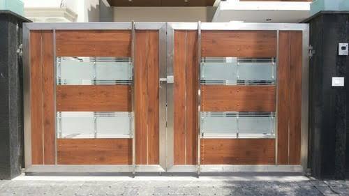 Wooden Main Gates