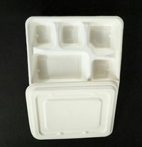 Ecoware 5 Compartment Tray & Lid