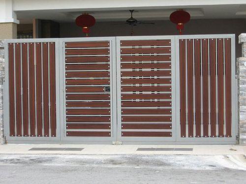 Four Part Folding  gates