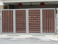 Four Part Folding  gates