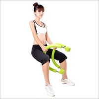 Portable Ab Roller Crunch Machine