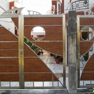 SS swing gates