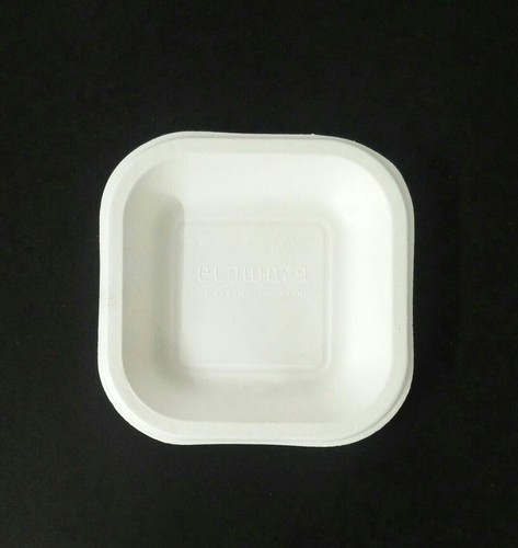 Ecoware 6 Inch Square Plate