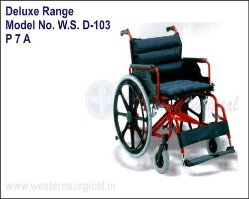 WHEEL CHAIR (DELUX RANGE)