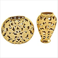 Brass Flower Vase