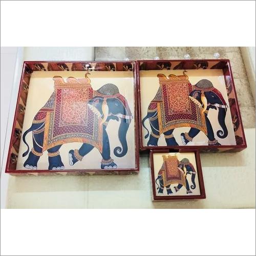 Digital Printed Wooden Tray