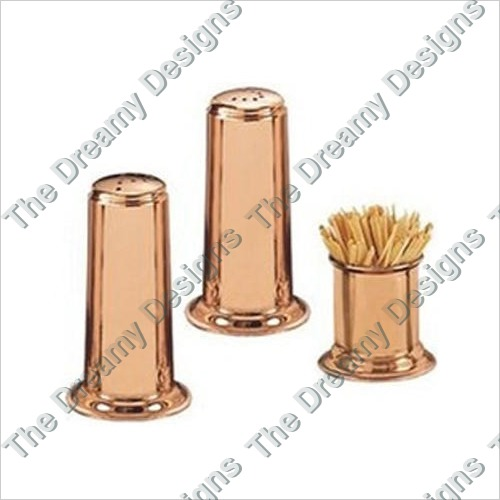 Copper Salt  Pepper Shaker