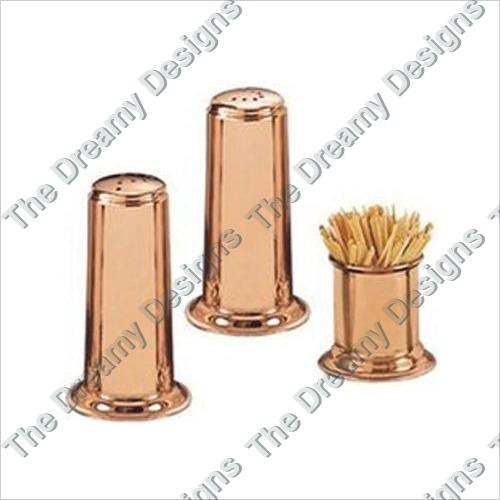 Copper Salt  Pepper Shaker