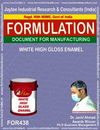 WHITE HIGH GLOSS ENAMEL