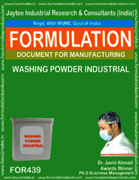 Industrial washing powder