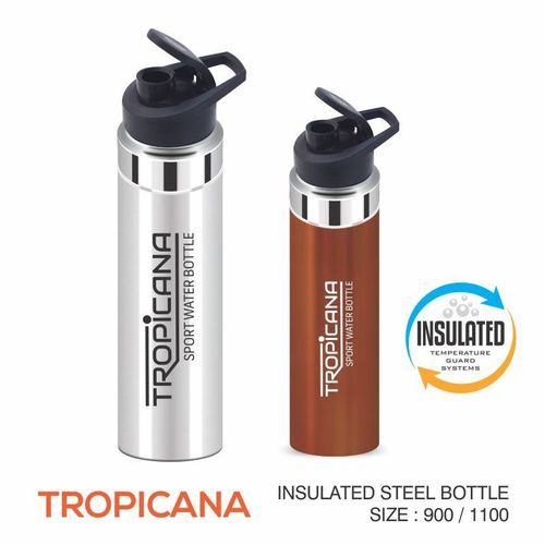TROPICANA STANLESS STEEL BOTTLE