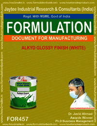 Alkyd glossy finish white