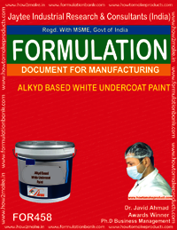 Alkyd based white undercoat paint
