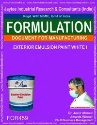 Exterior emulsion paint I
